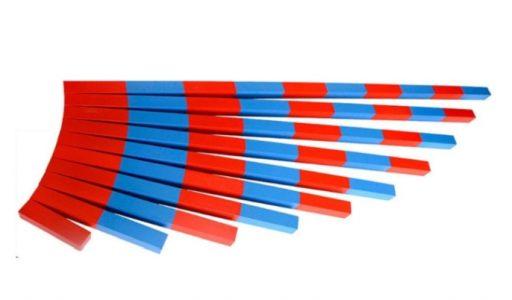 Listones rojos y azules versión mini