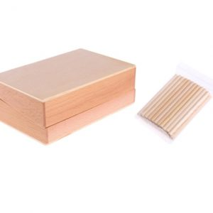 Dabixx Juguetes educativos. Conteo Caja de Madera de 45 Ejes de matemáticas. Dabbix.