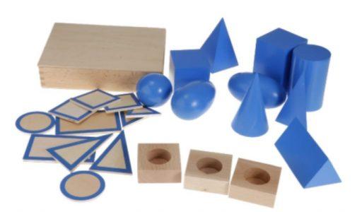 Sólidos Geométricos Montessori