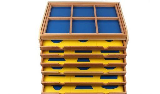 Resaques geométricos Montessori