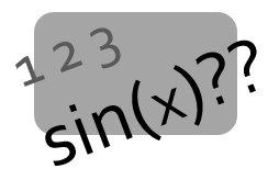 Entender las matemáticas 123 sin(x)