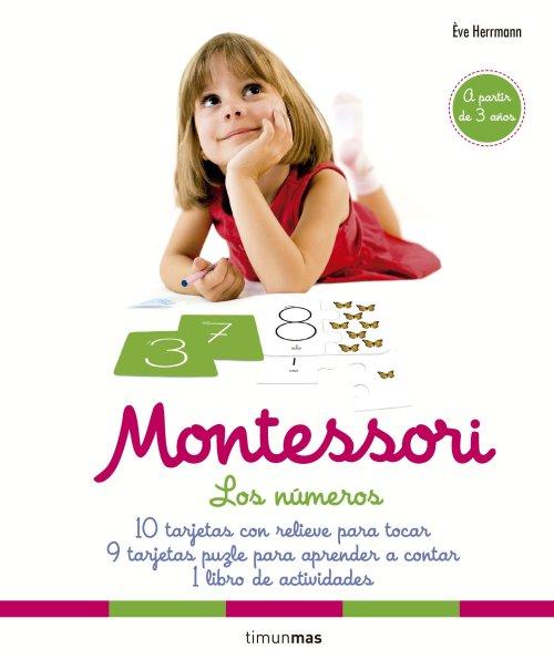 Montessori. Los números: 10 tarjetas con relieve para tocar. 9 tarjetas puzle para aprender a contar. 1 libro de actividades - Eve Herrmann