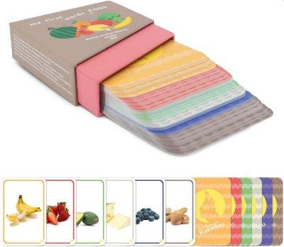Tarjetas Montessori - mis primeras palabras: comida